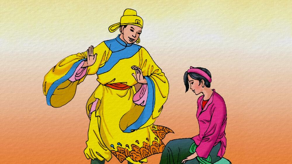 Bốn cô gái muốn lấy chồng hoàng tử
