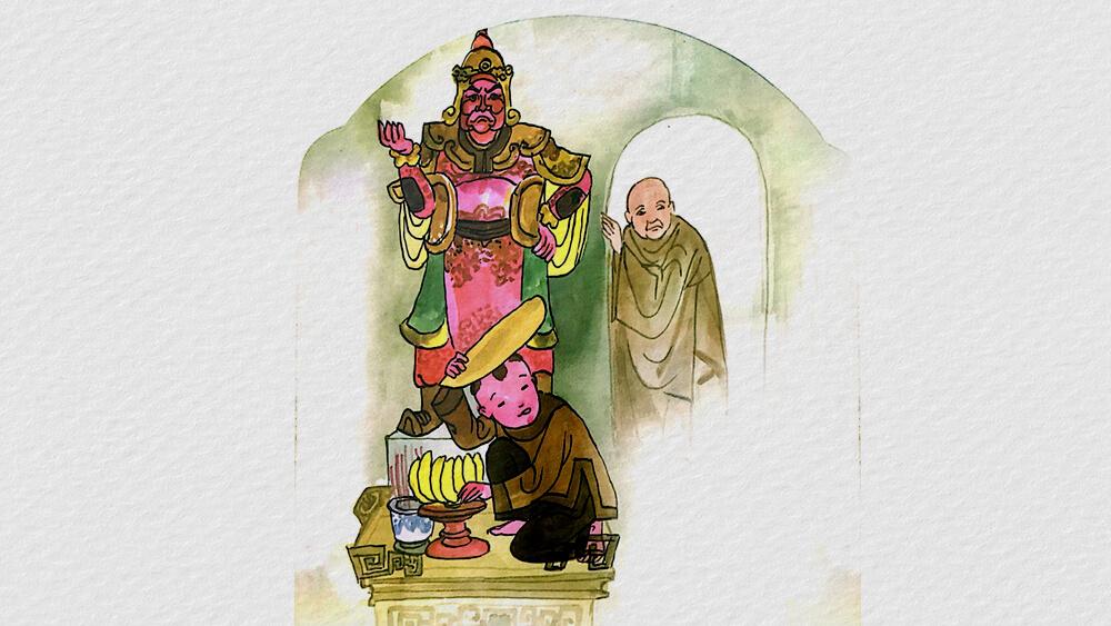 Câu chuyện Nợ như chúa Chổm
