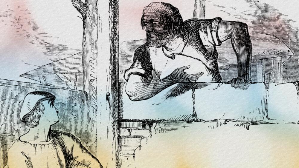 Người đốt than củi và thợ hồ vải