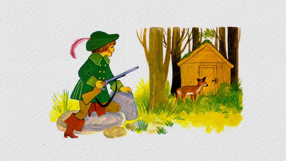 Người thợ săn và Mang