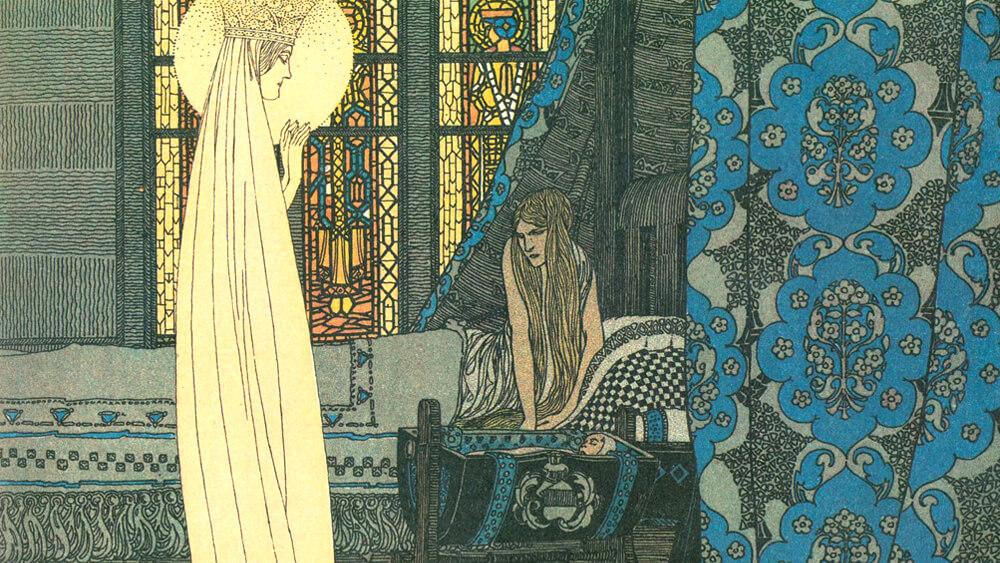 Truyện cổ Grimm Con Đức bà Maria