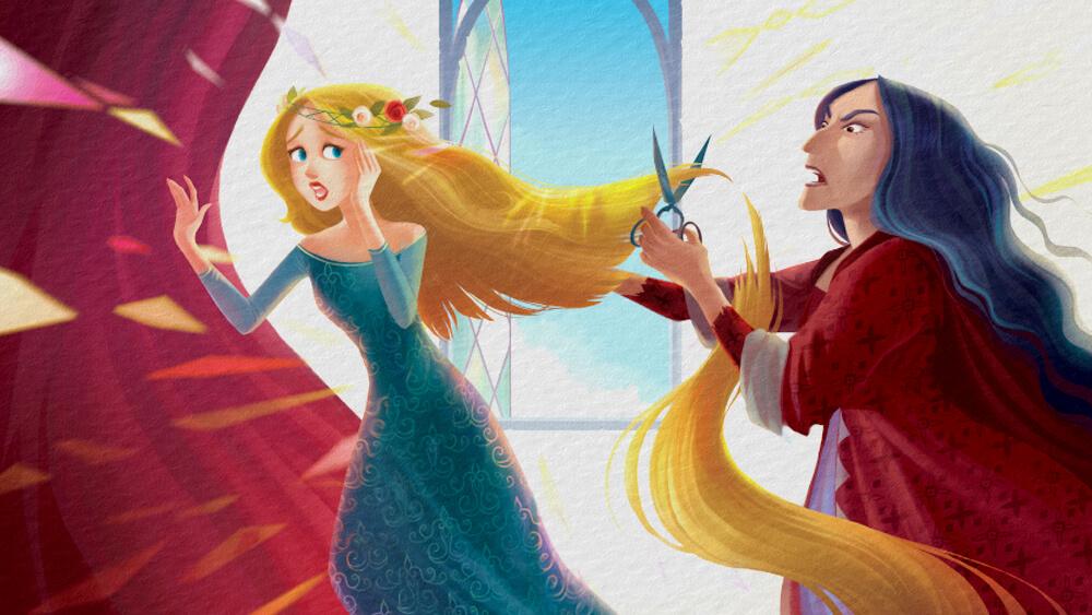 Câu chuyện Rapunzel