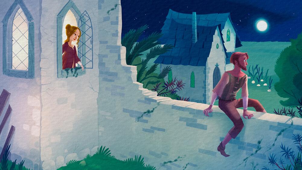 Rapunzel - Truyện cổ Grimm