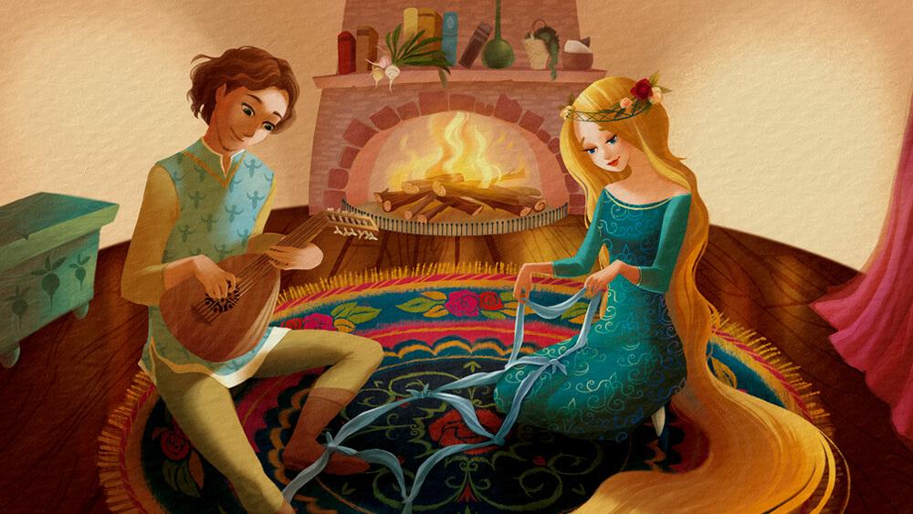 Rapunzel và hoàng tử