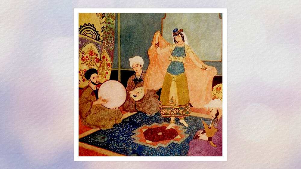 Chuyện ba chàng khất sĩ con vua và năm thiếu phụ ở thành cổ Bátđa