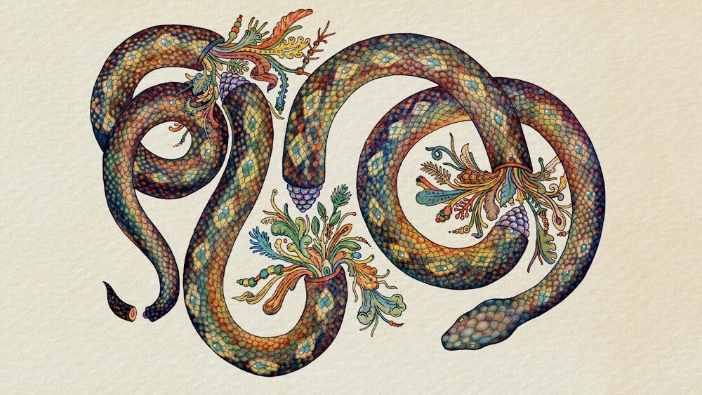 Truyện Ba chiếc lá rắn