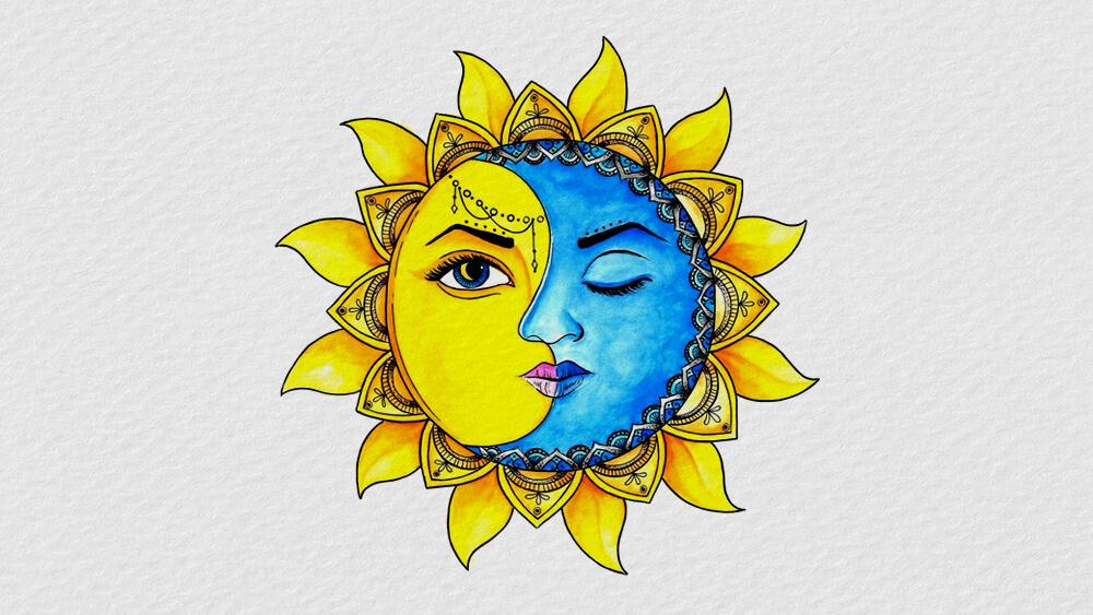 Truyện Nữ thần Mặt Trời và Mặt Trăng
